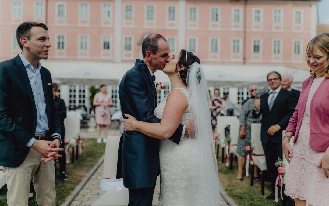 Romantische Schlosshochzeit